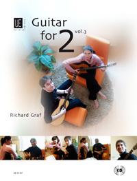 Guitar-for-2-with-CD-volume-3-Band-3-Diverse-Graf-Richard-Leichte-bis-mitt